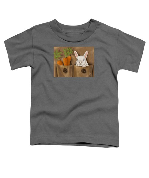 Rabbit Hole Toddler T-Shirt by Veronica Minozzi