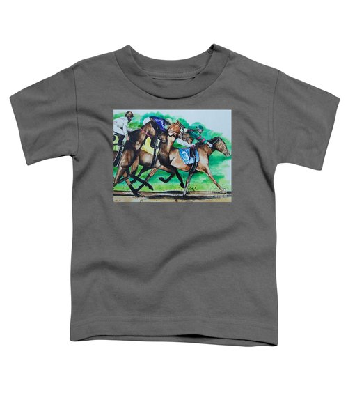 Race Day Toddler T-Shirt
