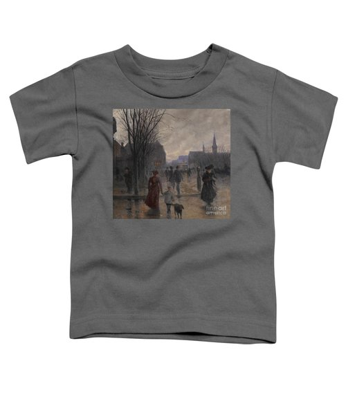 Rainy Evening On Hennepin Avenue Toddler T-Shirt