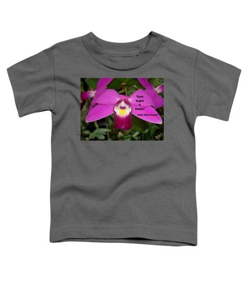 Ralph Waldo Emerson Toddler T-Shirt