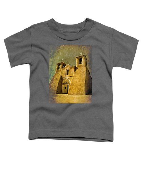 Ranchos Church In Old Gold Toddler T-Shirt