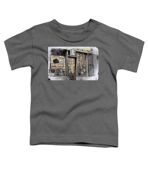 Rare Books Latin Quarter Paris France Toddler T-Shirt
