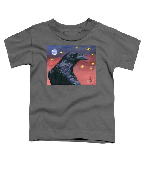 Raven Steals The Moon - Moon What Moon? Toddler T-Shirt