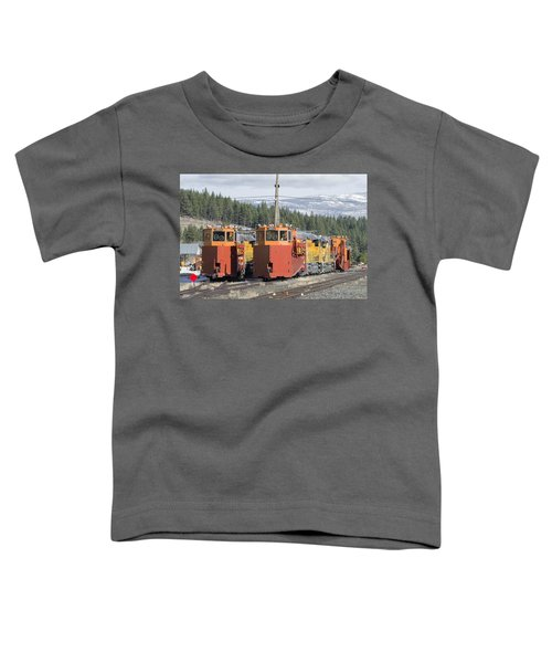 Ready For More Snow At Donner Pass Toddler T-Shirt