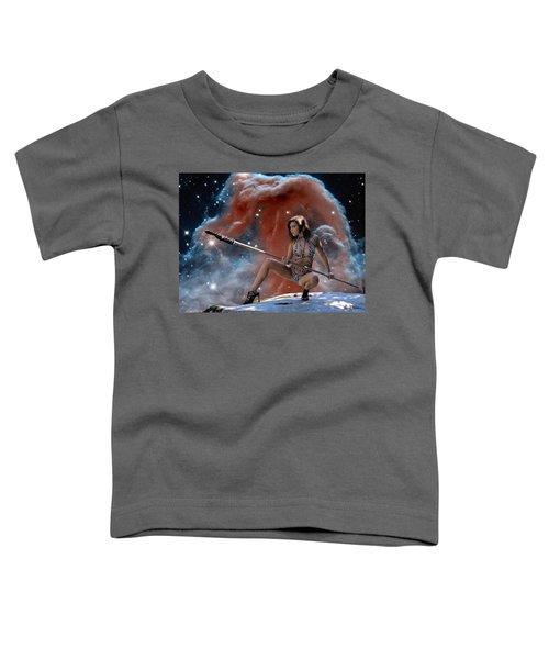Rebel Warrior Toddler T-Shirt