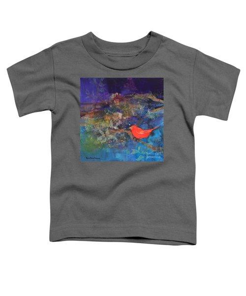 Red Bird Toddler T-Shirt