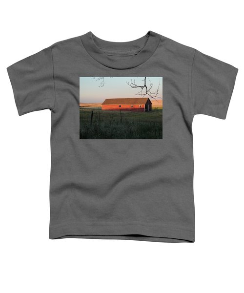 Red Granary Barn Toddler T-Shirt