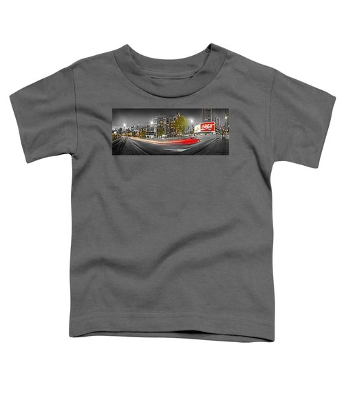 Red Lights Sydney Nights Toddler T-Shirt by Az Jackson