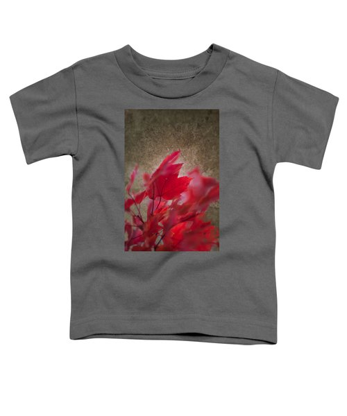 Red Maple Dreams Toddler T-Shirt