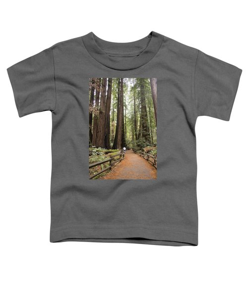 Redwood Trees Toddler T-Shirt
