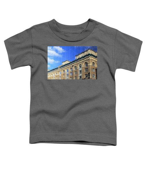 Reflected Building London Toddler T-Shirt