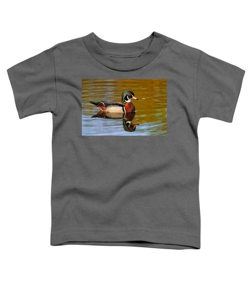 Reflecting Nature's Beauty Toddler T-Shirt
