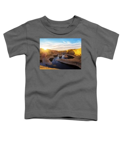 Reflection Canyon Toddler T-Shirt