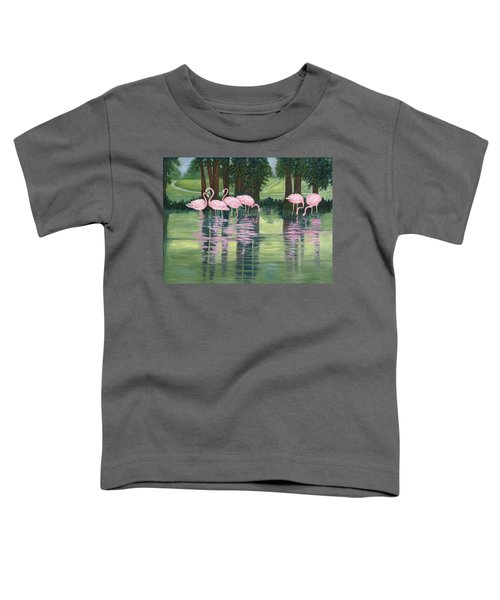 Reflections In Pink Toddler T-Shirt