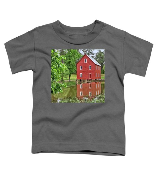 Reflections Of A Retired Grist Mill - Square Toddler T-Shirt