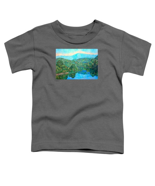 Reflections On The James River Toddler T-Shirt