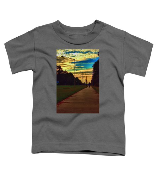 Riding Into The Sunset Toddler T-Shirt
