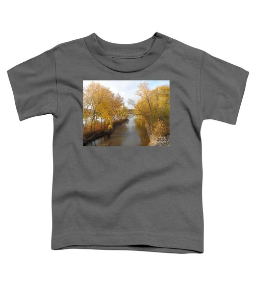 River And Gold Toddler T-Shirt
