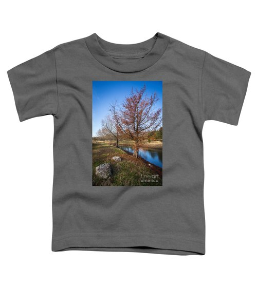 River And Winter Trees Toddler T-Shirt