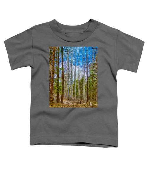 River Run Trail At Arrowleaf Toddler T-Shirt