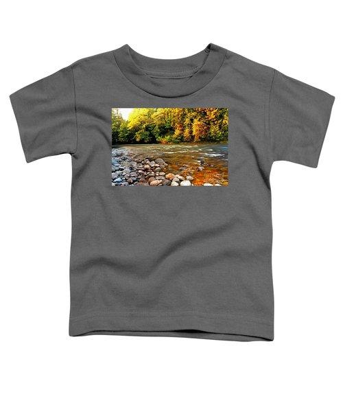 River Sunset Toddler T-Shirt