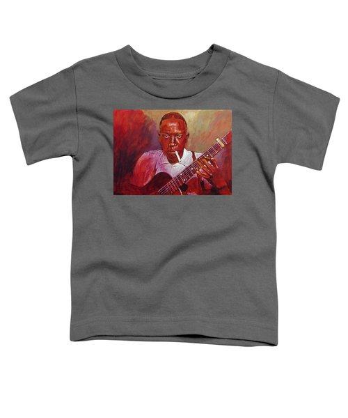 Robert Johnson Photo Booth Portrait Toddler T-Shirt