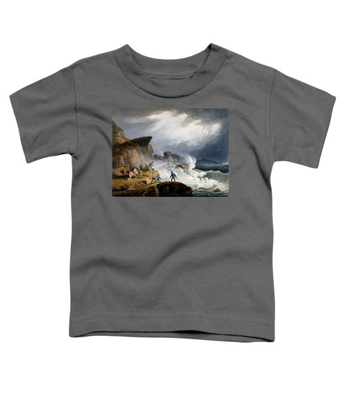 Robin Hoods Bay, Yorkshire, 1825 Toddler T-Shirt