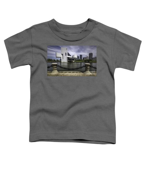 Rock And Roll Hall Of Fame Toddler T-Shirt by James Dean