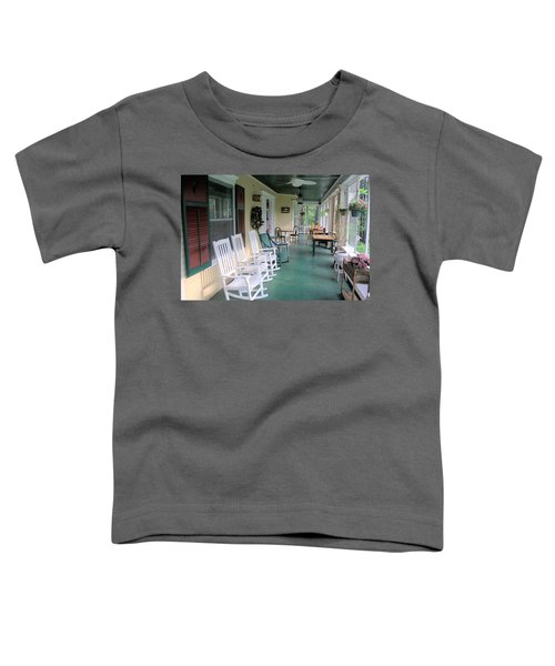 Rockers On The Porch Toddler T-Shirt