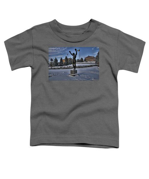 Rocky In The Snow Toddler T-Shirt