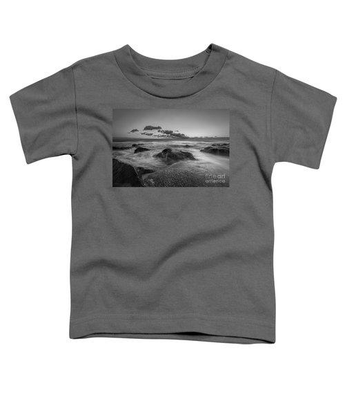 Rocky Sunrise Bw Toddler T-Shirt