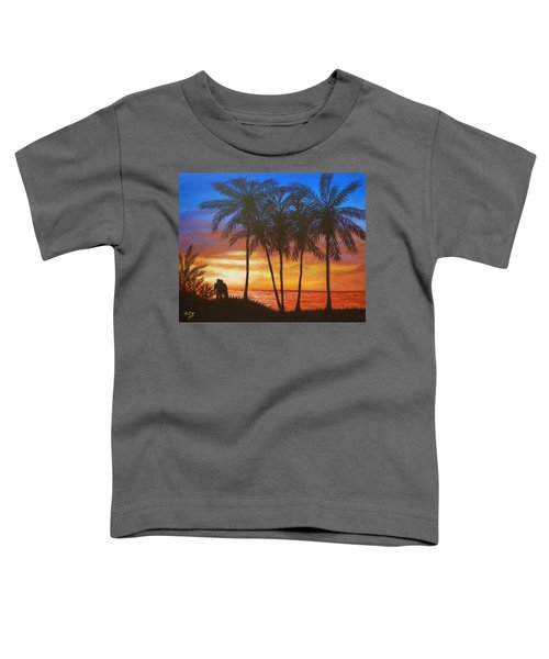 Romance In Paradise Toddler T-Shirt