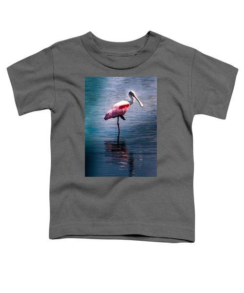 Roseate Spoonbill Toddler T-Shirt