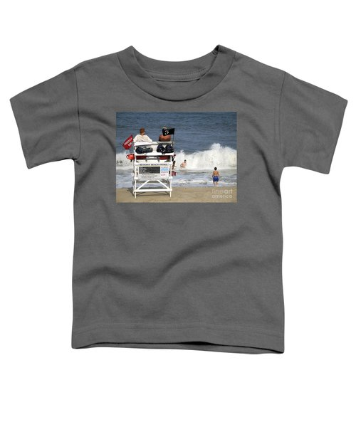 Rough Water At Bethany Beach In Delaware  Toddler T-Shirt