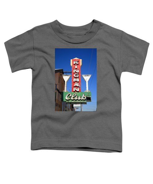 Route 66 - Kingman Club Toddler T-Shirt
