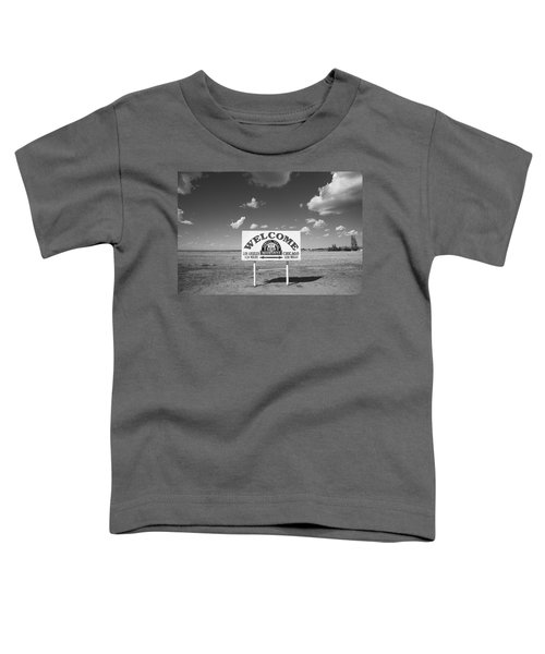 Route 66 - Midpoint Sign Toddler T-Shirt