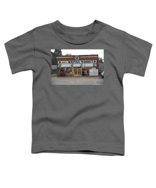 Route 66 - Wrink's Market Toddler T-Shirt