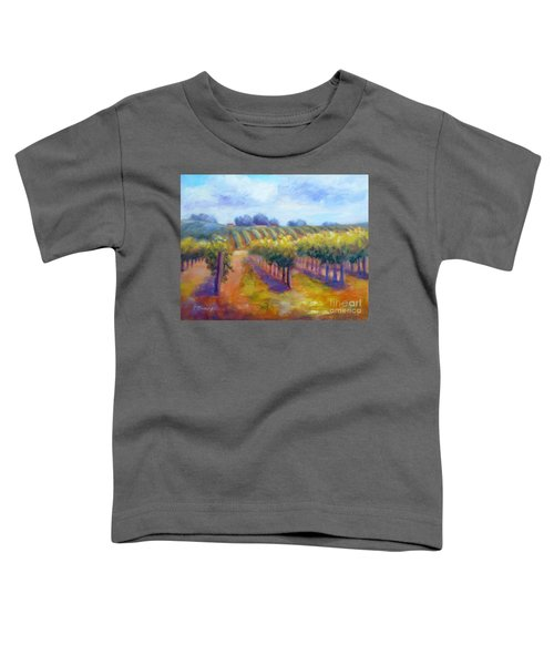 Rows Of Vines Toddler T-Shirt