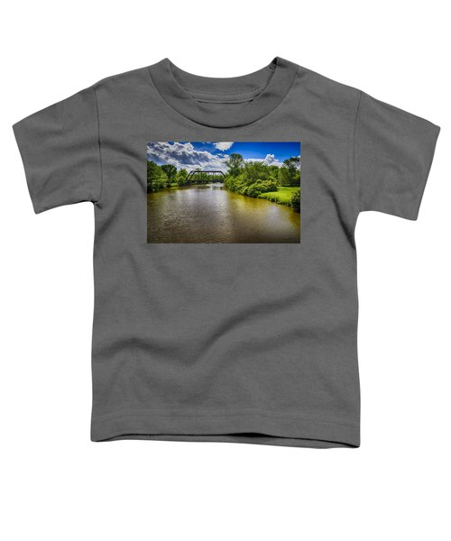 Toddler T-Shirt featuring the photograph Royal River by Mark Myhaver