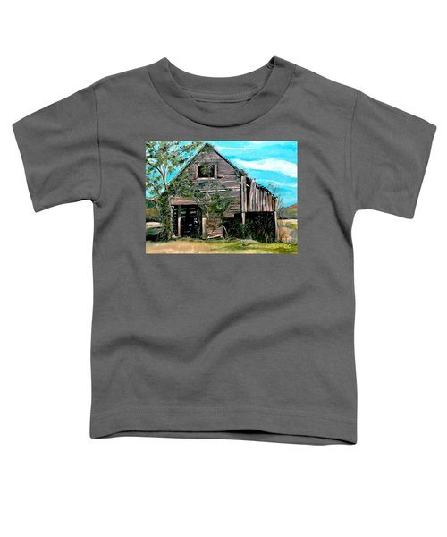 Rustic Barn - Mooresburg - Tennessee Toddler T-Shirt