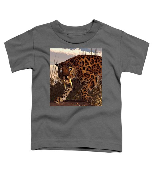 Sabertooth Toddler T-Shirt