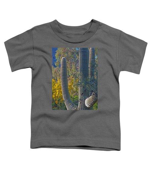 Saguaro Fall Color Toddler T-Shirt