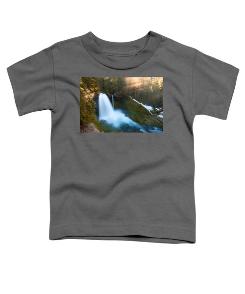 Sahalie Falls Toddler T-Shirt