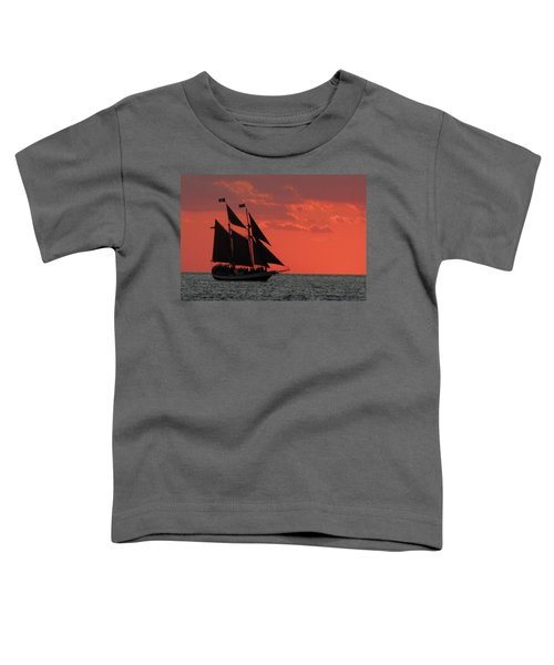 Key West Sunset Sail 5 Toddler T-Shirt