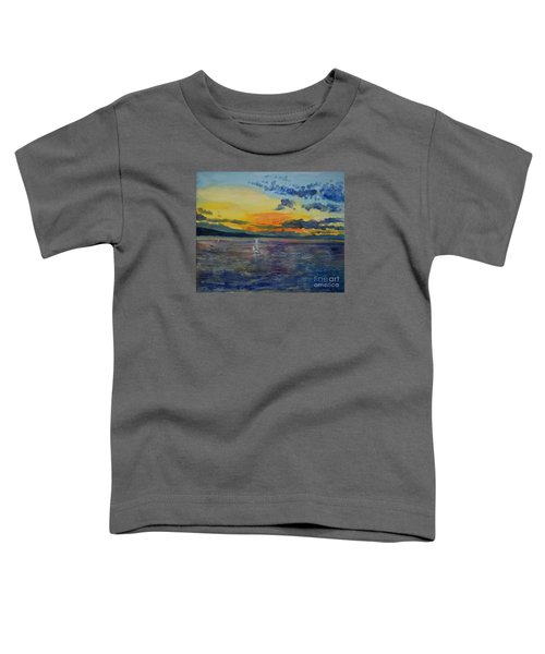 Sailboats Near Stockholm Toddler T-Shirt