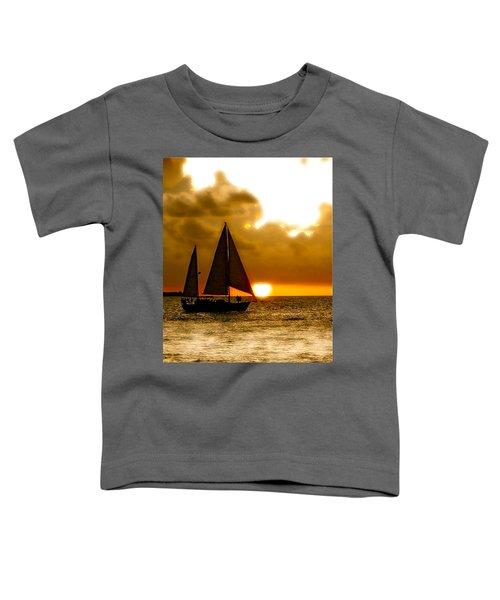 Sailing The Keys Toddler T-Shirt