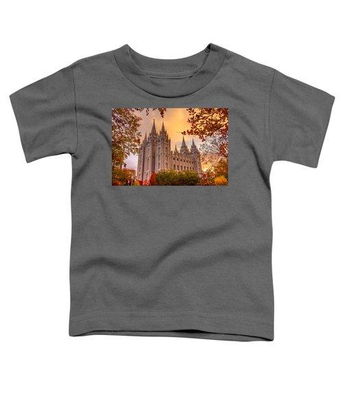 Salt Lake City Temple Toddler T-Shirt