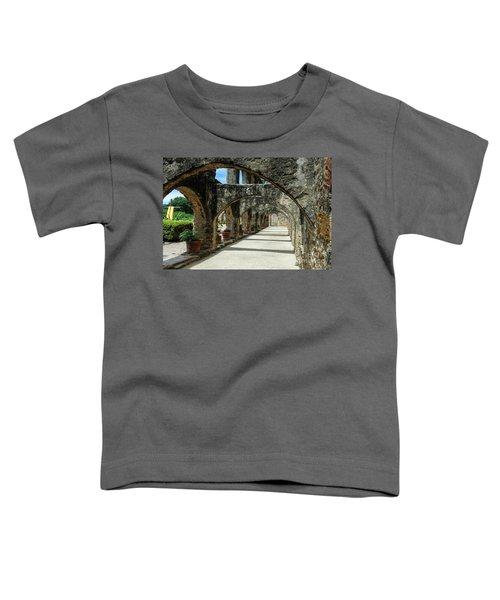 San Antonio Mission Arches Toddler T-Shirt