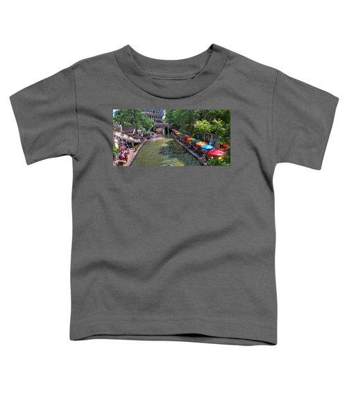 San Antonio Riverwalk Toddler T-Shirt