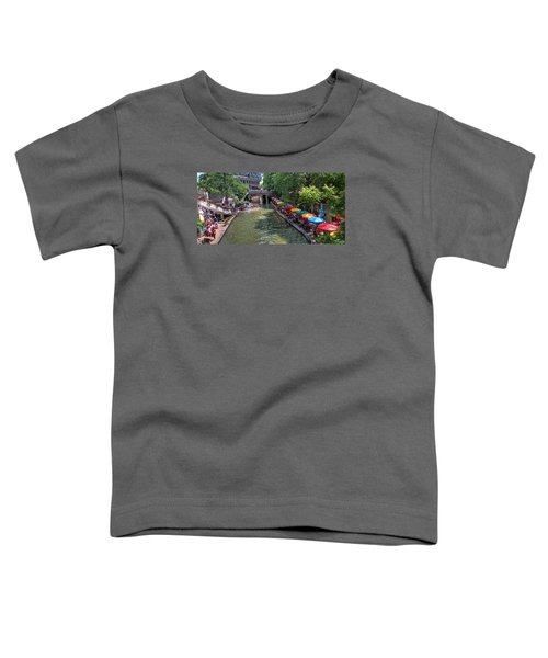 San Antonio Riverwalk Toddler T-Shirt